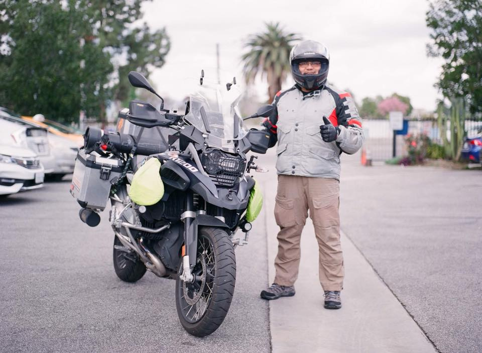 The Motorcyclist Imam who traveled over 17,000 miles for orphans